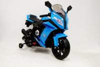 Электромобиль RiverToys MOTO M111MM-BLACK-BLUE