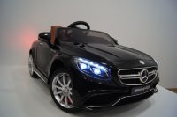 Электромобиль RiverToys Mercedes-Benz S63-BLACK