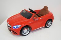 Электромобиль RiverToys Mercedes-Benz S63-RED