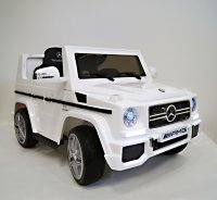 Электромобиль RiverToys Mercedes-Benz G65-WHITE-LS528