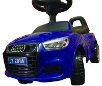 Электромобиль Rivertoys Толокар AUDI JY-Z01A-BLUE