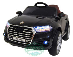 Электромобиль RiverToys AUDI O009OO-VIP-BLACK