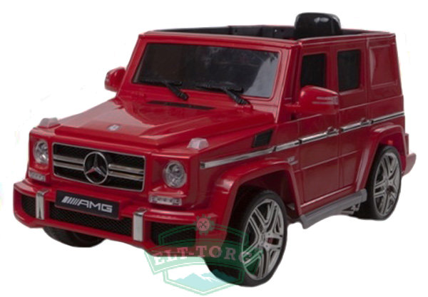 Электромобиль RiverToys Mercedes-Benz G65-RED-LS528