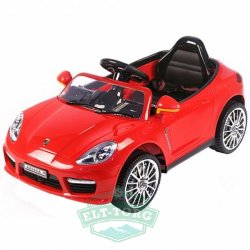 Электромобиль RiverToys Porsche Panamera A444AA-RED-LEATHER