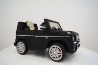 Электромобиль RiverToys Mercedes-Benz G65-BLACK-MATOVII-LS528