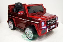 Электромобиль RiverToys Mercedes-Benz G65-CHERRY-GLANEC-LS528