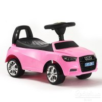 Электромобиль Rivertoys Толокар AUDI JY-Z01A-PINK