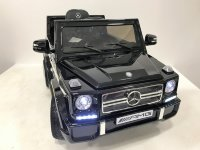 Электромобиль RiverToys Mercedes-Benz G65-BLACK-GLANEC-LS528