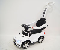 Электромобиль RiverToys Толокар Mercedes-Benz GL63 A888AA-M-WHITE