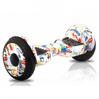 Гироскутер Smart Balance Wheel Suv New 10.5 Premium Граффити Белый