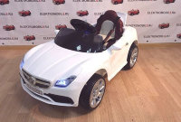 Электромобиль RiverToys Mercedes-O333OO-WHITE