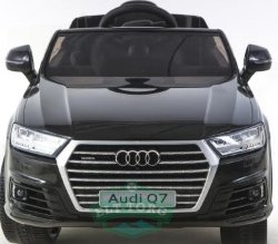 Электромобиль RiverToys AUDI Q7-QUATTRO-BLACK