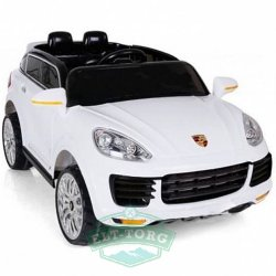 Электромобиль RiverToys Porsche E008KX-WHITE