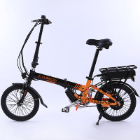 Электровелосипед Elbike Pobeda 250 Black/Orange