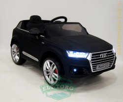 Электромобиль RiverToys AUDI Q7-QUATTRO-BLACK-MATT