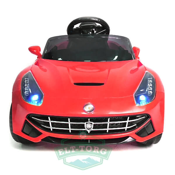 Электромобиль RiverToys Ferrari O222OO-RED-LEATHER