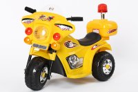 Электромобиль RiverToys MOTO 998-YELLOW