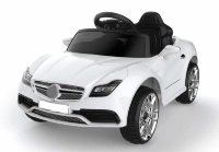 Электромобиль RiverToys Mercedes O333OO-WHITE-LEATHER