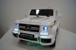 Электромобиль RiverToys Mercedes-Benz G63-WHITE