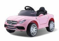 Электромобиль RiverToys Mercedes O333OO-PINK-LEATHER
