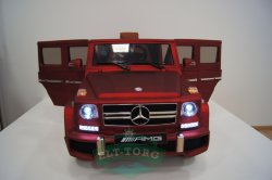 Электромобиль RiverToys Mercedes-Benz G63-CHERRY-MATT