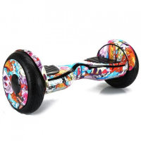 Гироскутер Smart Balance Wheel Suv New 10.5 Premium Граффити Розовый