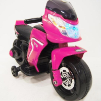 Электромобиль RiverToys MOTO O888OO-PINK