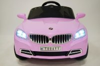 Электромобиль RiverToys BMW T004TT-pink