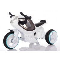 Электромобиль RiverToys MOTO HC-1388-WHITE