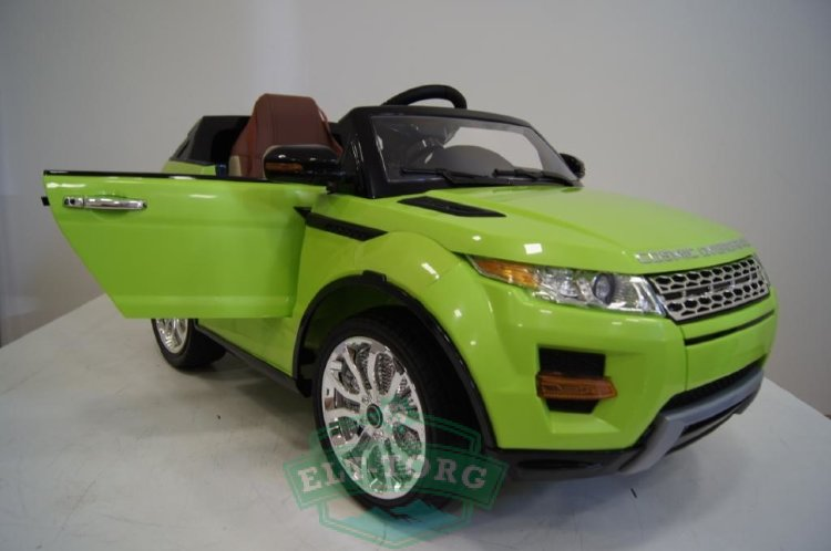 Электромобиль RiverToys Range Rover A111AA-VIP-GREEN
