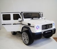 Электромобиль RiverToys Mercedes-Benz-G65-AMG-WHITE