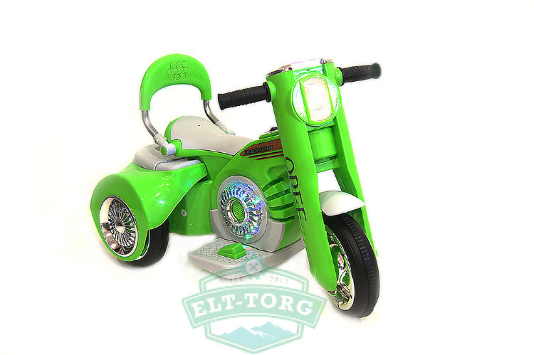 Электромобиль RiverToys MOTO X222XX-GREEN