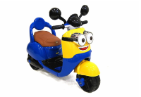 Электромобиль RiverToys MOTO E003KX-YELLOW