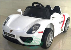 Электромобиль RiverToys Porshe O003OO-VIP-WHITE