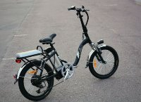 Электровелосипед E-motions City King 350W (new style rear) черный