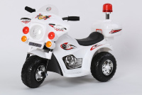 Электромобиль RiverToys MOTO 998-WHITE