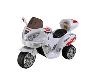Электромобиль RiverToys MOTO HJ9888-white