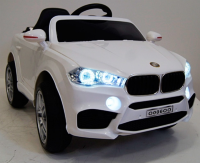 Электромобиль RiverToys BMW O006OO-VIP-WHITE